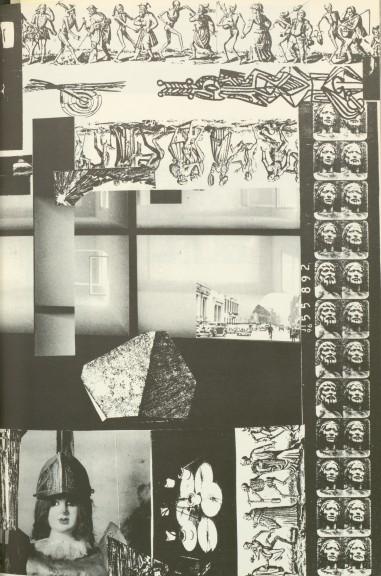 Collage, S. 65 aus »Nacht im Feuer«