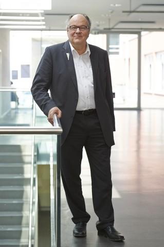 Hans Ulrich Reck im April 2014