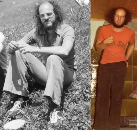 Hans Ulrich Reck im Juni 1976 und im Januar 1977